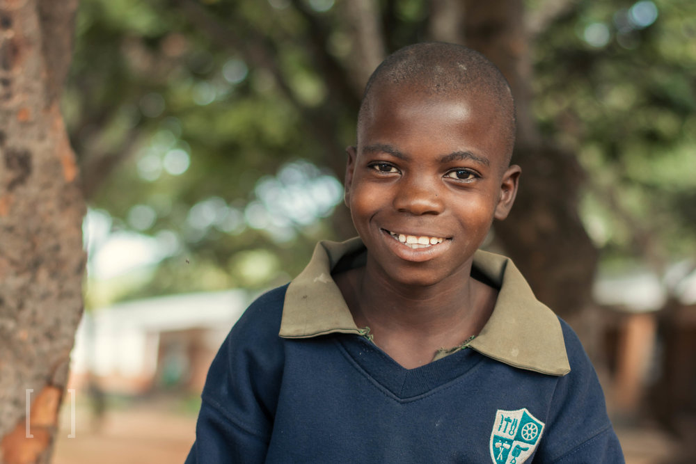Phuziro - Phuziro was born in 2006 and came to the orphanage at 6 years old. He does well in Math and English and would like to become a lawyer someday. He loves playing soccer and eating lunch. Sponsor him today!