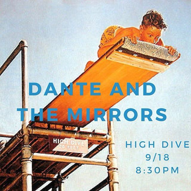 Alright guys, this show coming up is with some great local musicians--Alberta, Drew Martin, and Gully. You won't want to miss it! #highdiveseattle #danteandthemirrors