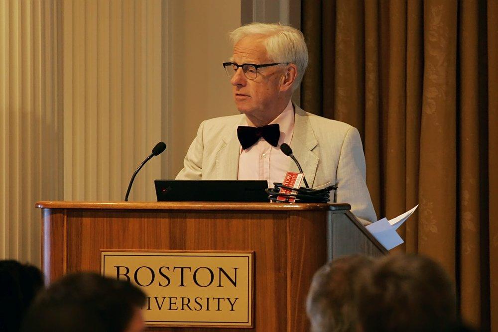 Key note speaker Rolf Lundin