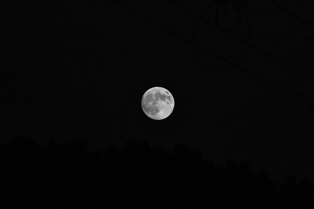 The Buck Moon, July 26, 2018 in the Northern Hemisphere
