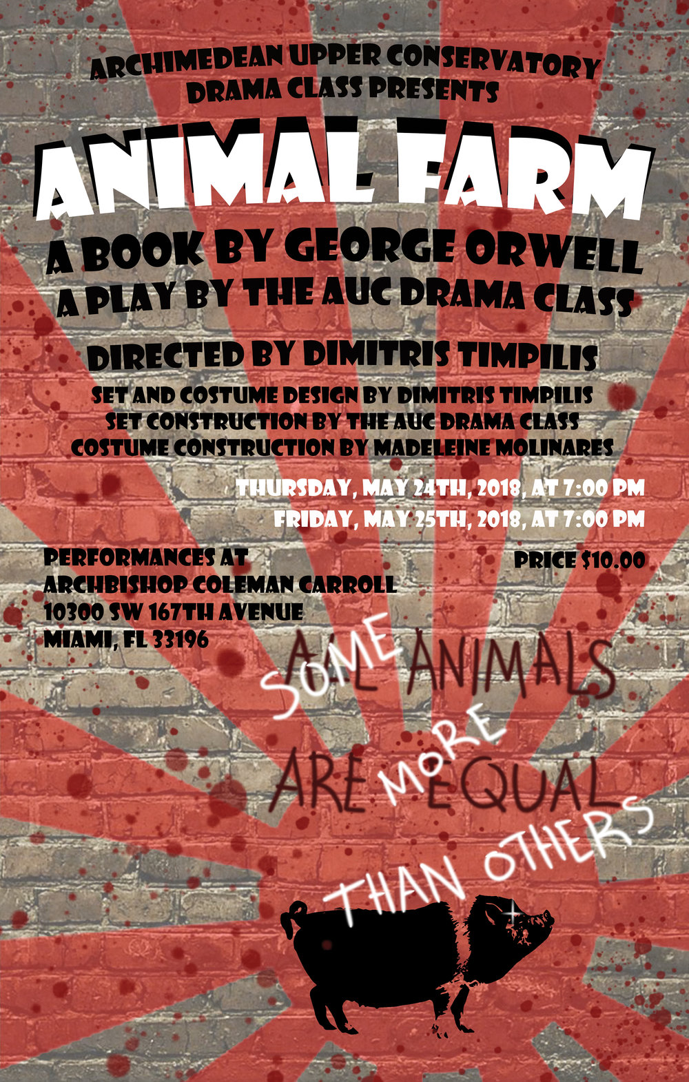 2018 Animal Farm adaptation of the same titled book by George Orwell Poster.jpg