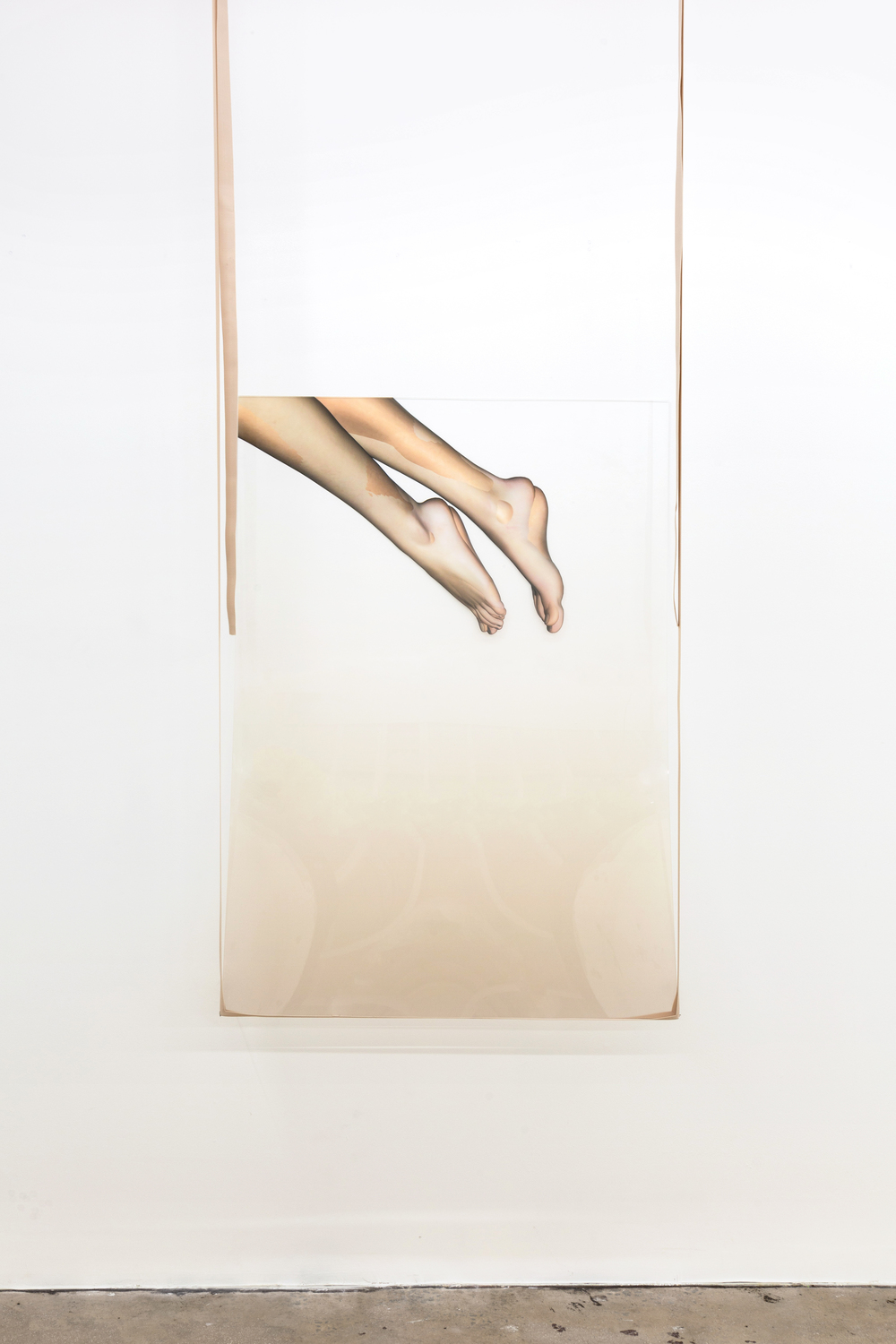 Ivana Basic, Das Unheimliche 1, 2014, installation view