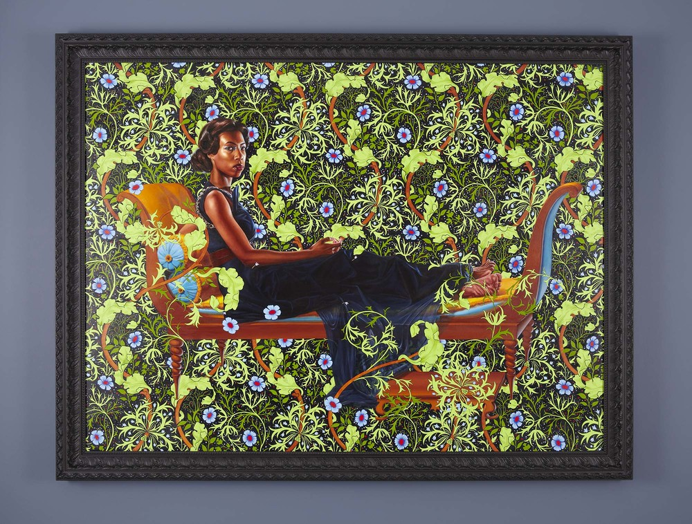 Kehinde Wiley, Juliette Recamier, 2012
