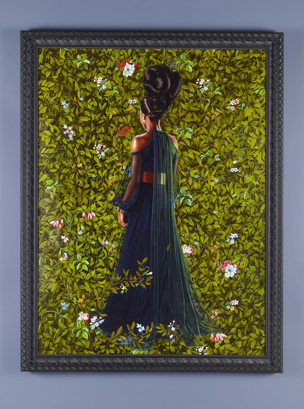 Kehinde Wiley, Princess Victoire of Saxe-Coberg-Gotha, 2012