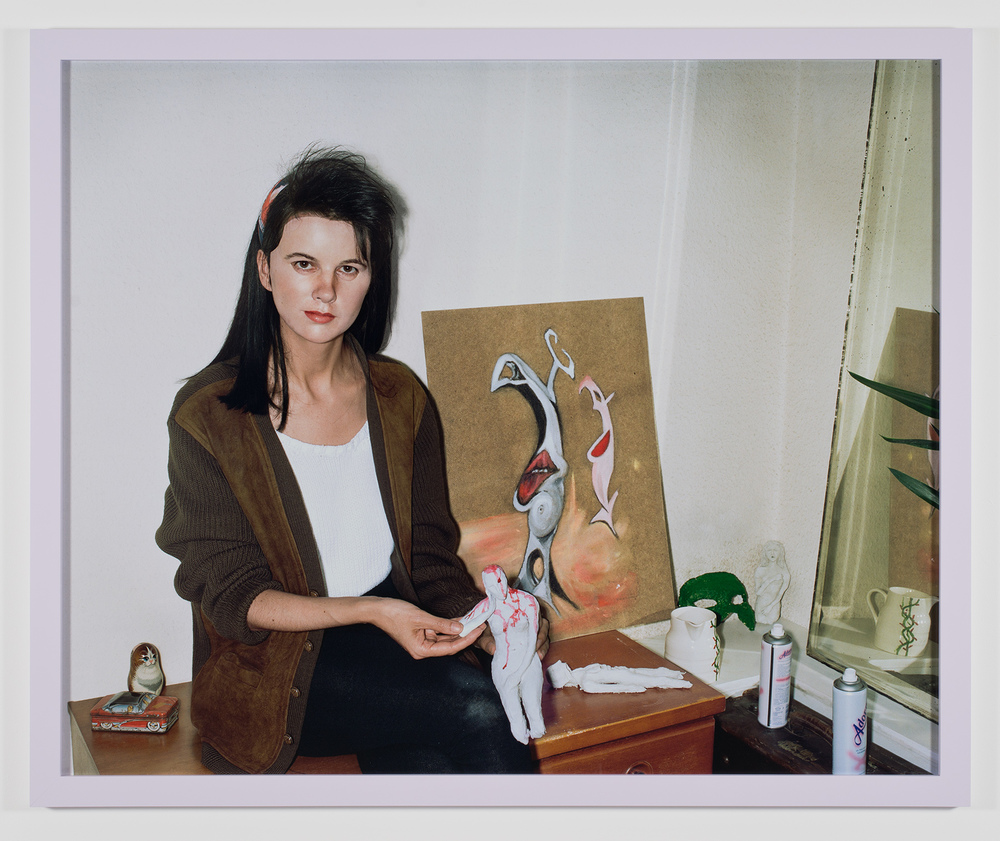 Gillian Wearing,  Me as an Artist in 1984 , 2014