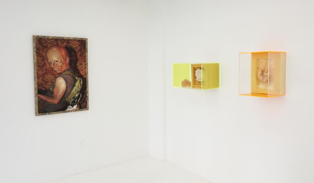 The Pleasure Principle , 2016, installation view