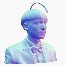 3D-printed scan of Neil Harbisson by Metropolitian Museum of Art Media Lab, 2015, New York