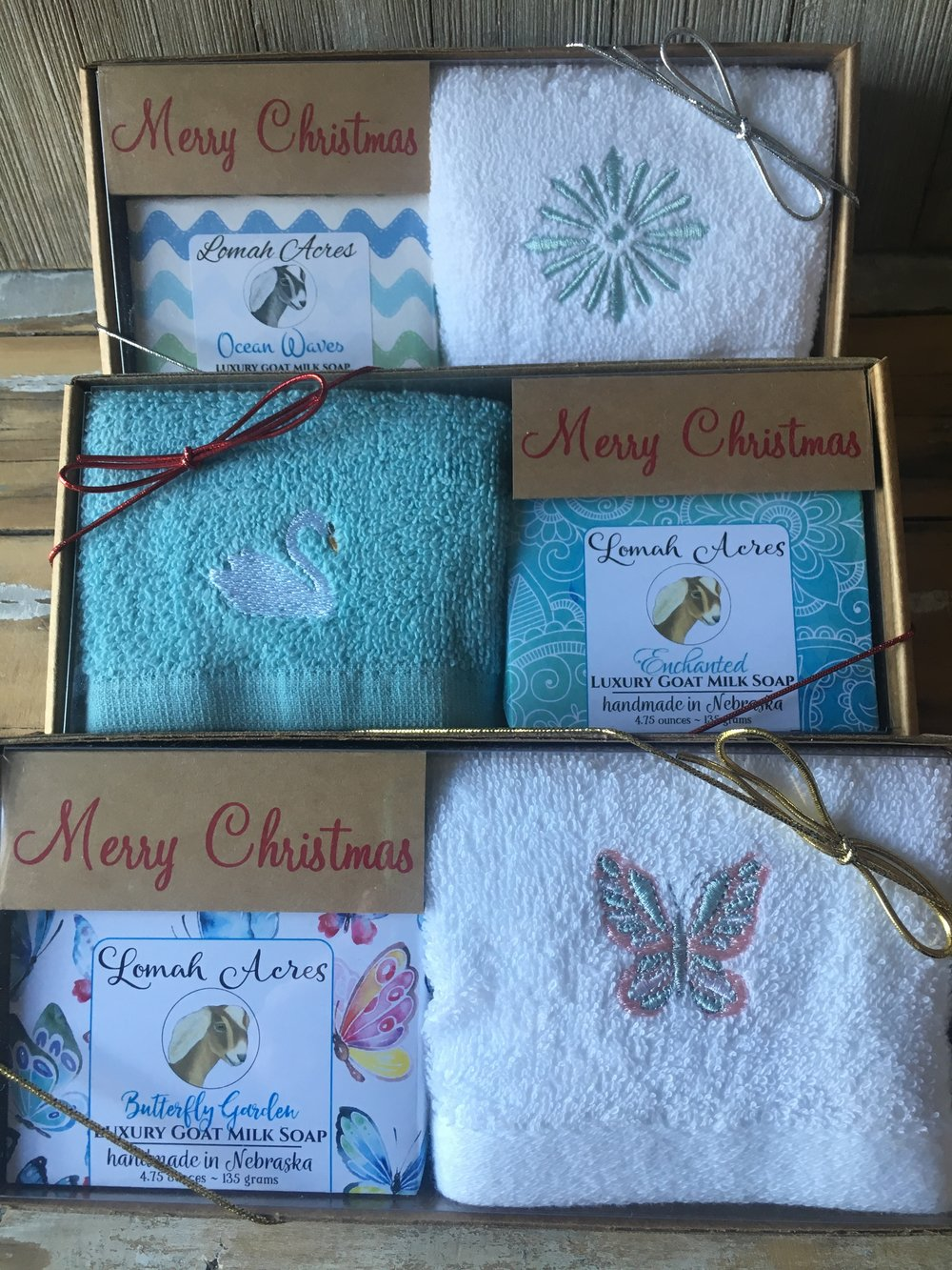 Gift box with your choice of Soap!  $9.50