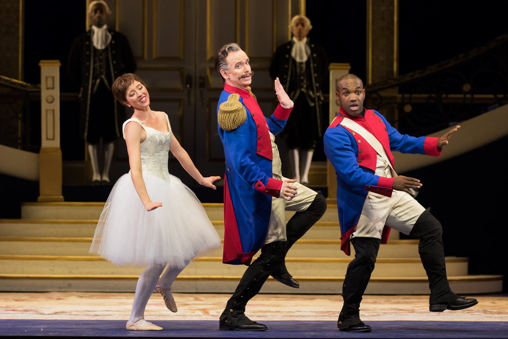 Lisette Oropesa, Kevin Burdette, and Lawrence Brownlee.