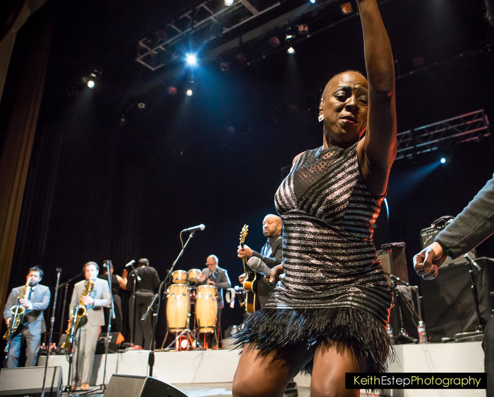 Sharon Jones and the Dap Kings. Photo by Keith Estep Photography.