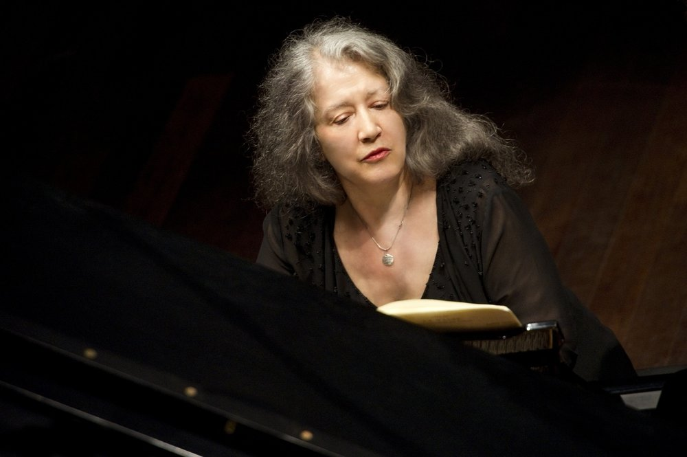 7. Martha Argerich & the Orchestra di Santa Celilia -