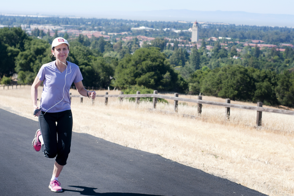 Stanford Health Policy marathoners practice what they preach Photo by Kris Newby