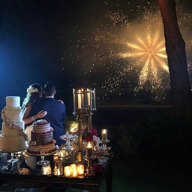 A truly magical weekend with the new Mr. and Mrs. Smiley🎇🧡💫 #StaySmiley