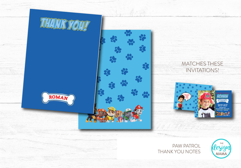 NEW - PAW PATROL NOTES