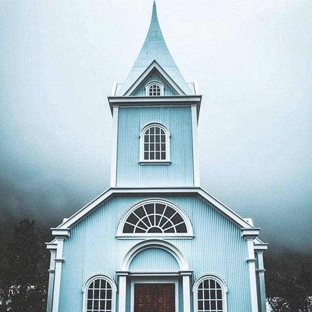 Images can be so mood changing. Ice blue. via @sagatrail_iceland #iceblue #blue #bluechurch #photography