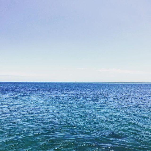 Blue #blue #sun #summer #bay #ocean #water #morningtonpeninsula