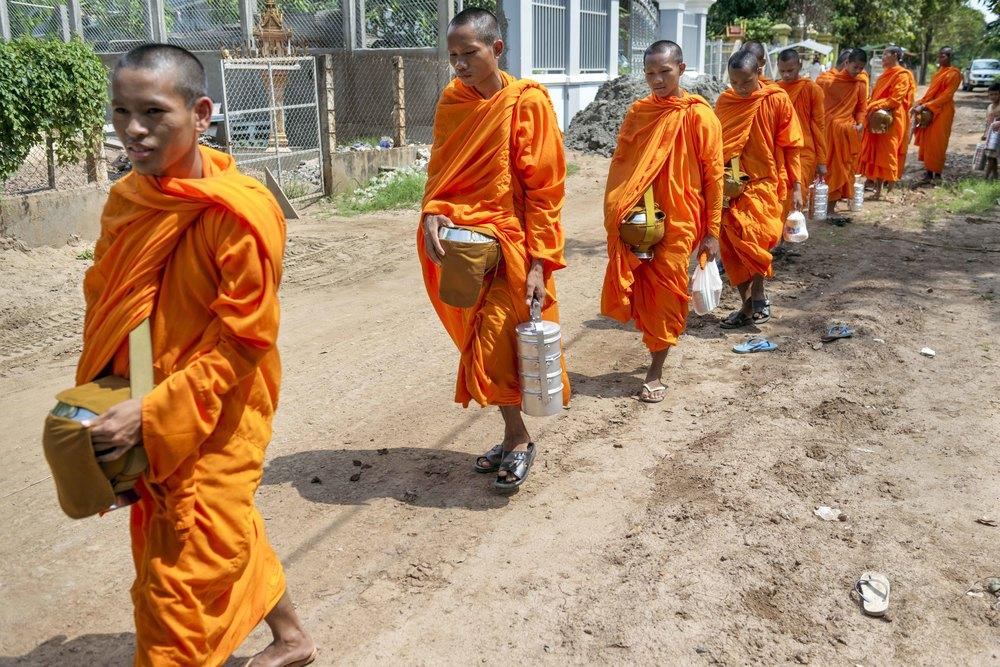 Monk Blessing