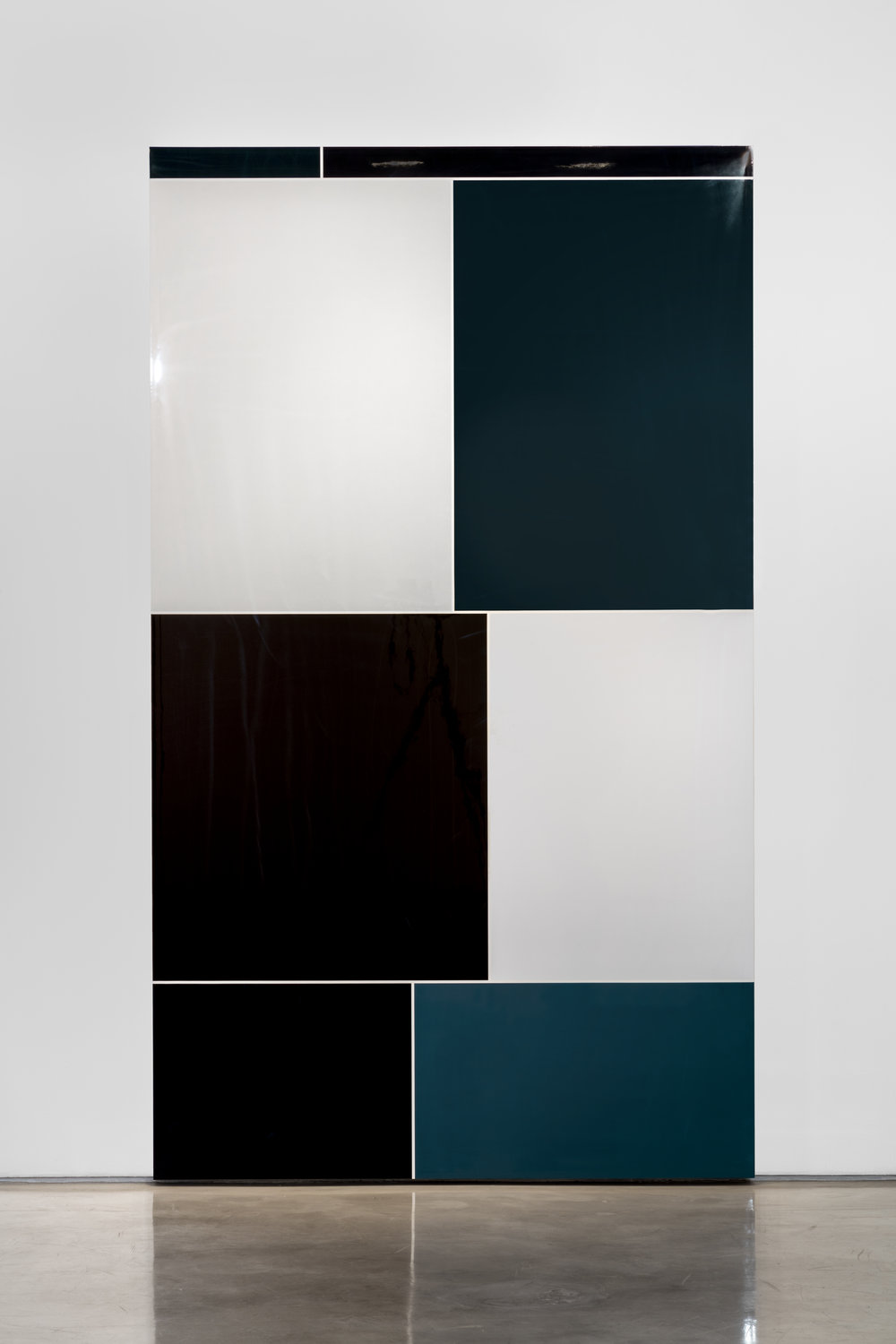 Image search: Sterotypes, Police Brutality, Polished urethane on gessoed canvas, 2015