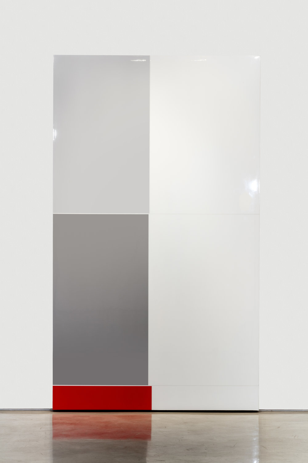 As. 32, Astonished, (Feelings and Emotions Chart), Polished urethane on canvas, 96 X 56 inches, 2016
