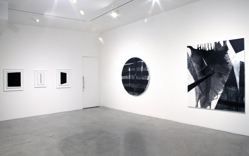 Elapse, Synapse, Elapse, Installation view with Torkwase Dyson at Form Shapes Language at Morán Morán, Los Angeles, 2018