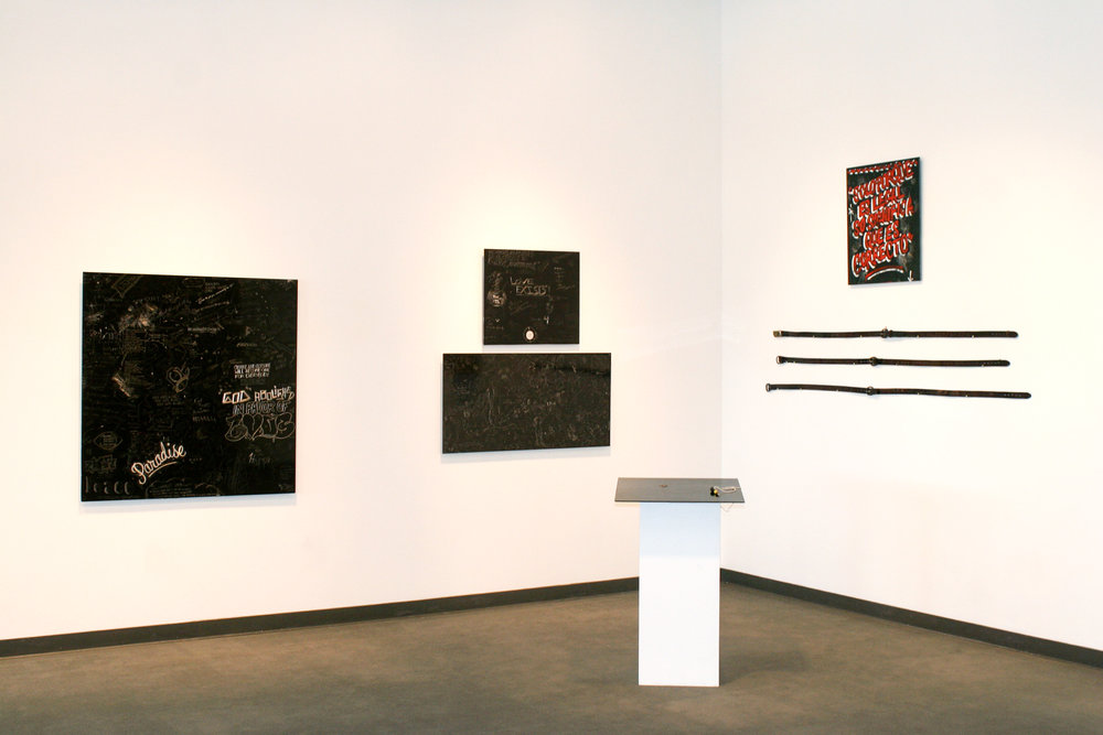 Installation view, University of Texas, San Antonio