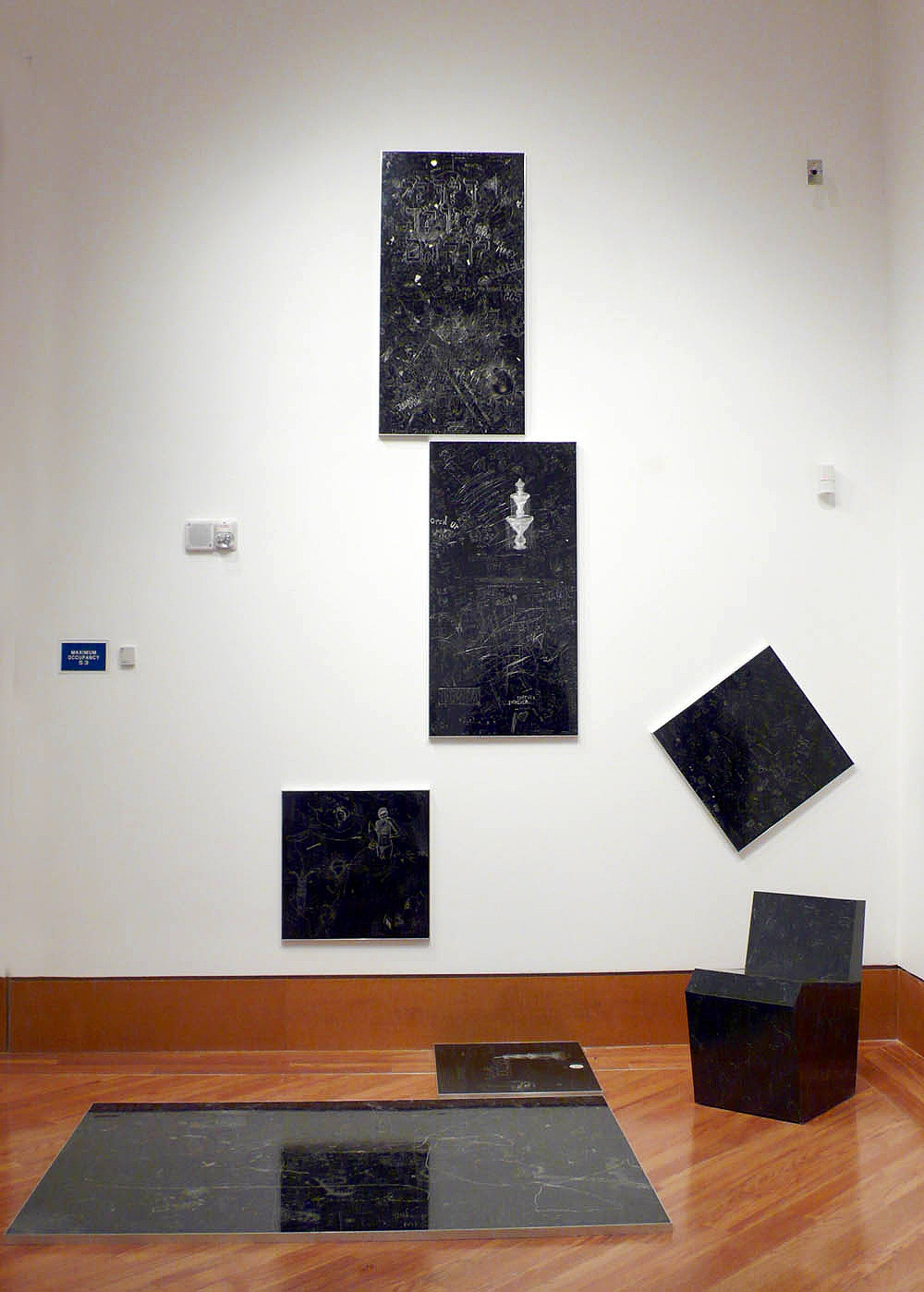 Galaxy 1, P.S., Installation view at the Frost Art Museum, Miami, FL. 2012