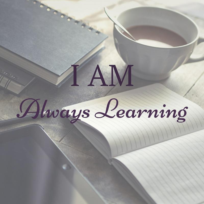 I am always learning