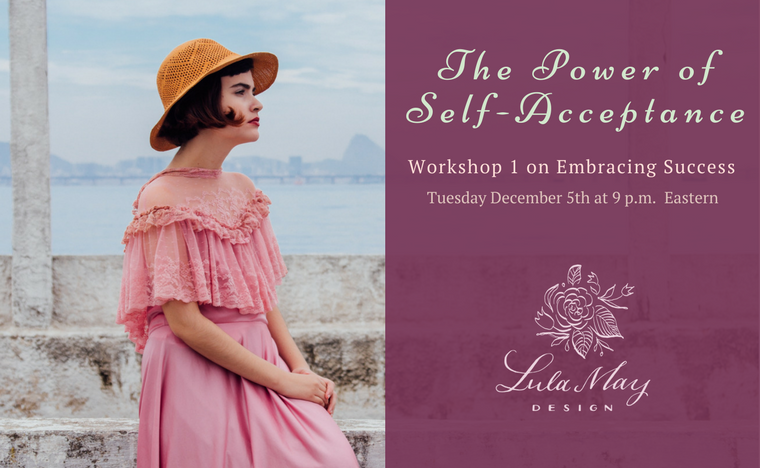 Join us in December for our workshops on Embracing Success!