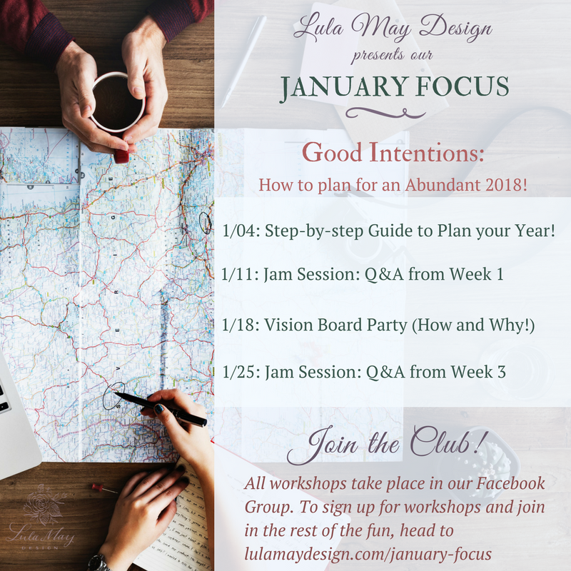 Join us for our January Workshops