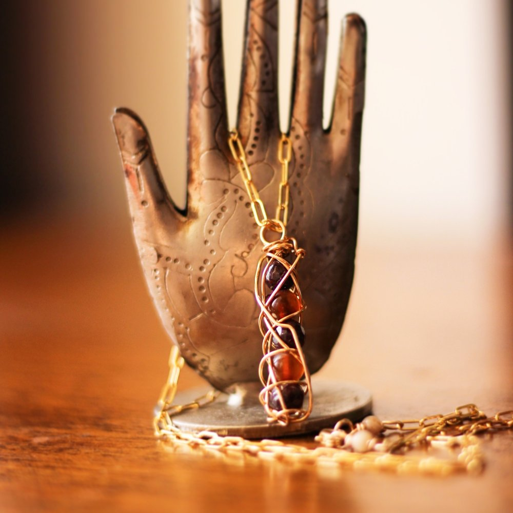 New Beginnings Necklace: Perfect for setting powerful Intentions this year!