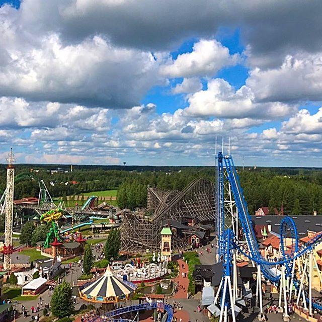 #powerpark #leppälintu #arjessamme # huvipuisto #maailmanpyörä