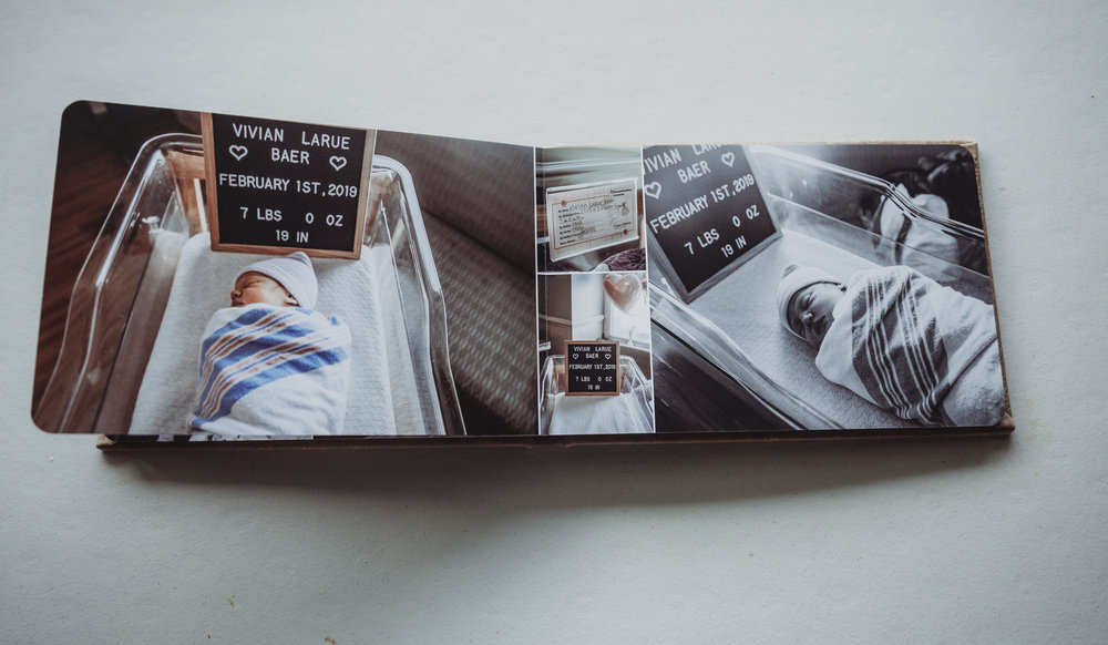 photo books feature linen or leather covers with lay flat pages to tell the whole story