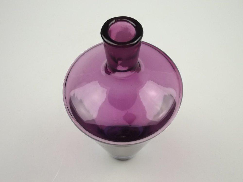 AMETHYST BOHEMIAN<br>GLASS