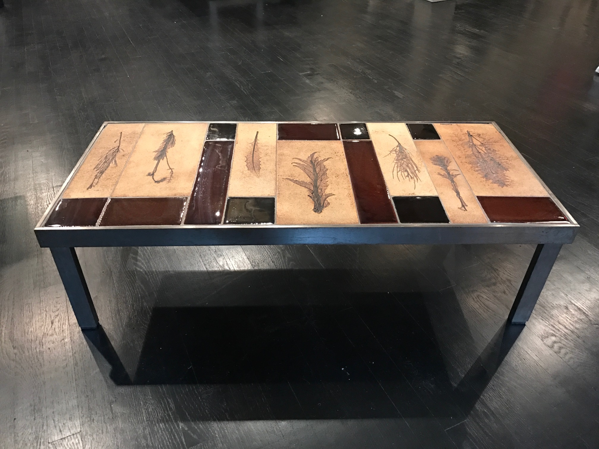 ROGER CAPRON COFFEE TABLE — PHILIP GORRIVAN DESIGN