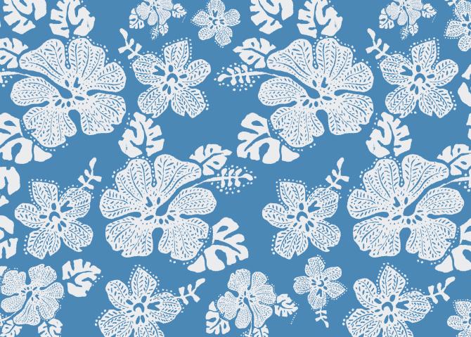 Textile print design.