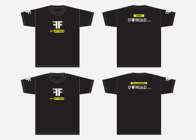 Crew & Personnel T-shirts.