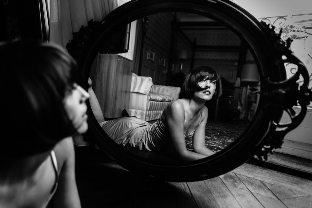 The Mirror Model:Patricia Sluka Make-Up Artist: Alina Sara Hediger