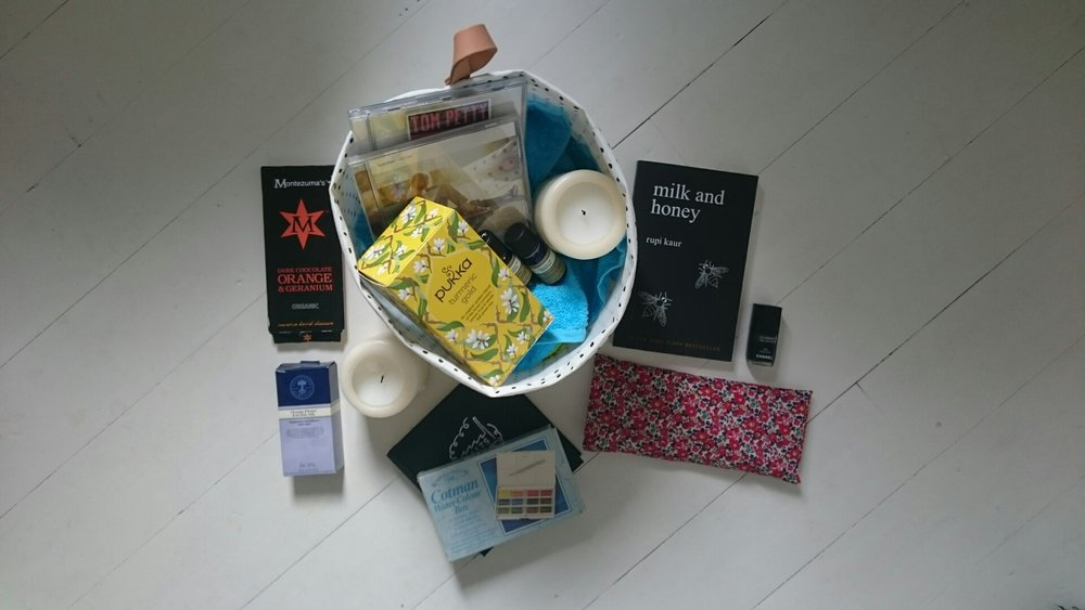 My own Self-Care Box