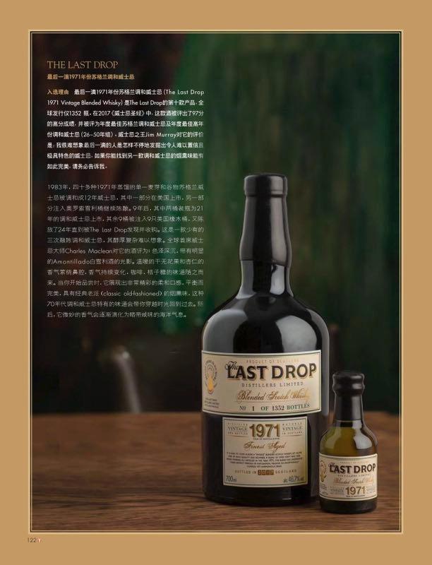 Target Magazine - WINNER, BEST LUXURY ALCOHOLS 2017