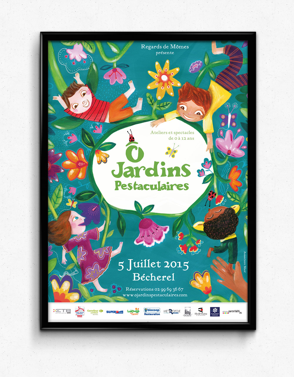 Affiche - 2015 - Illustration Anne-Claire Macé