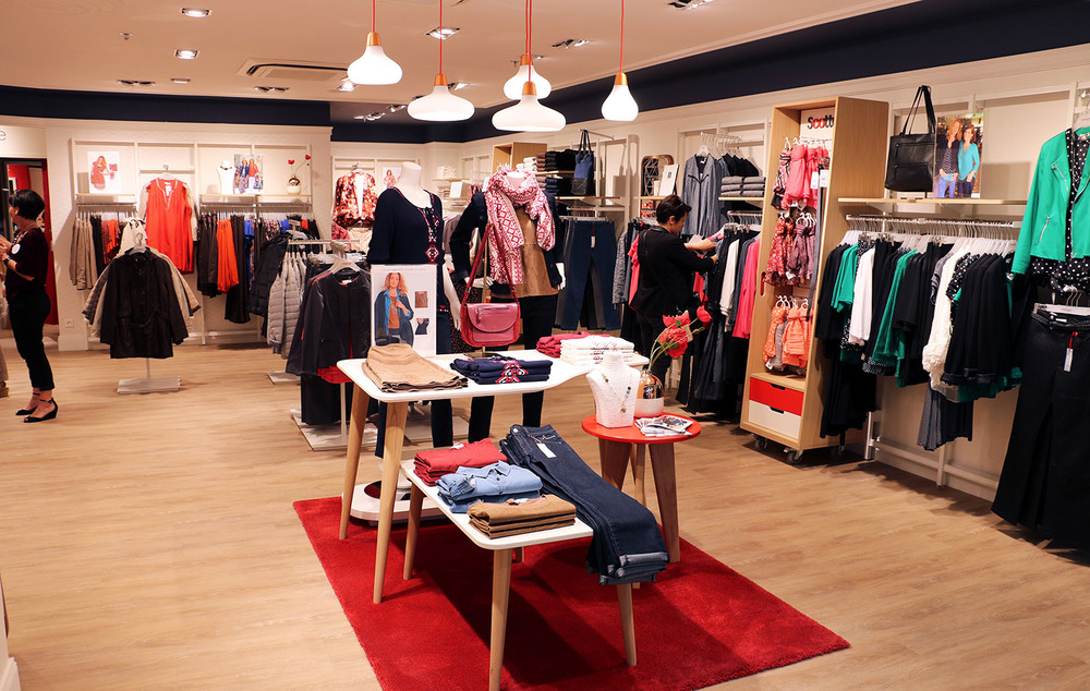 Intérieur boutique Scottage