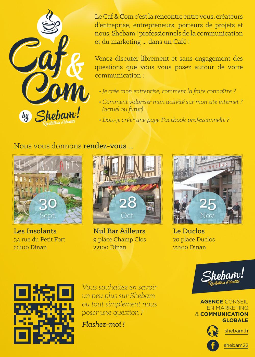 Flyer_Caf&Com by Shebam!