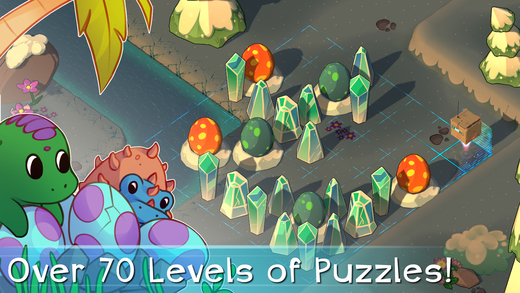 Over 70 levels of puzzles!