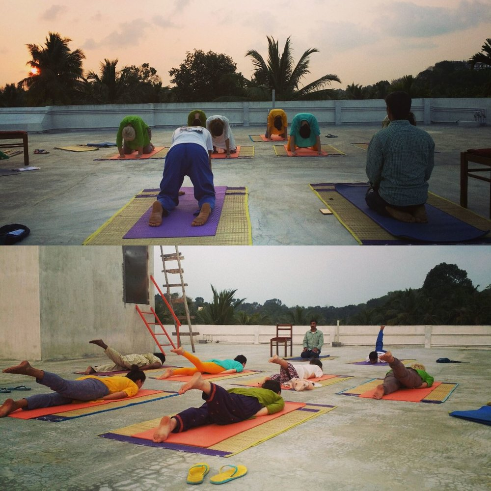 vacanta yoga in india, zbor india