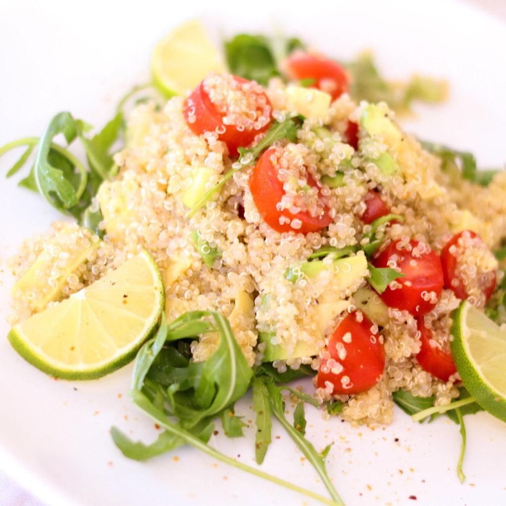 Salata de quinoa si legume