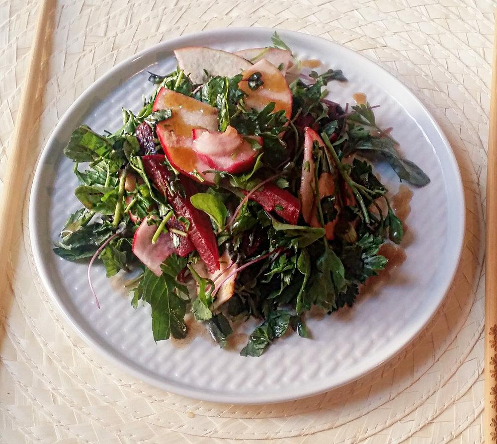 reteta de salata, vegetarian, vegan, mancat sanatos