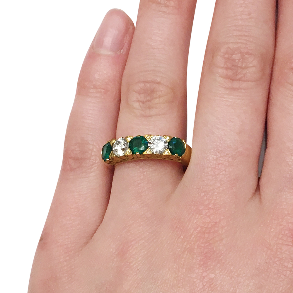 Emerald-and-diamond-carved-half-hoop-ring-2.jpg