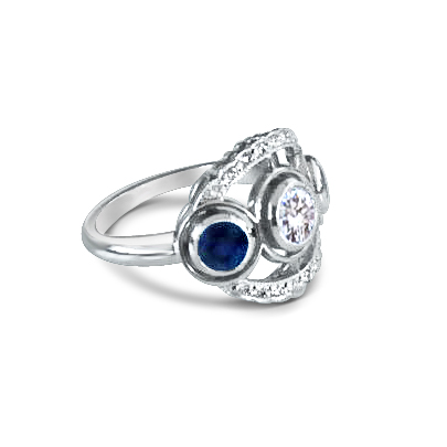 Sapphire-and-diamond-three-stone-ring-with-diamond-scalloped-edge-ring .jpg