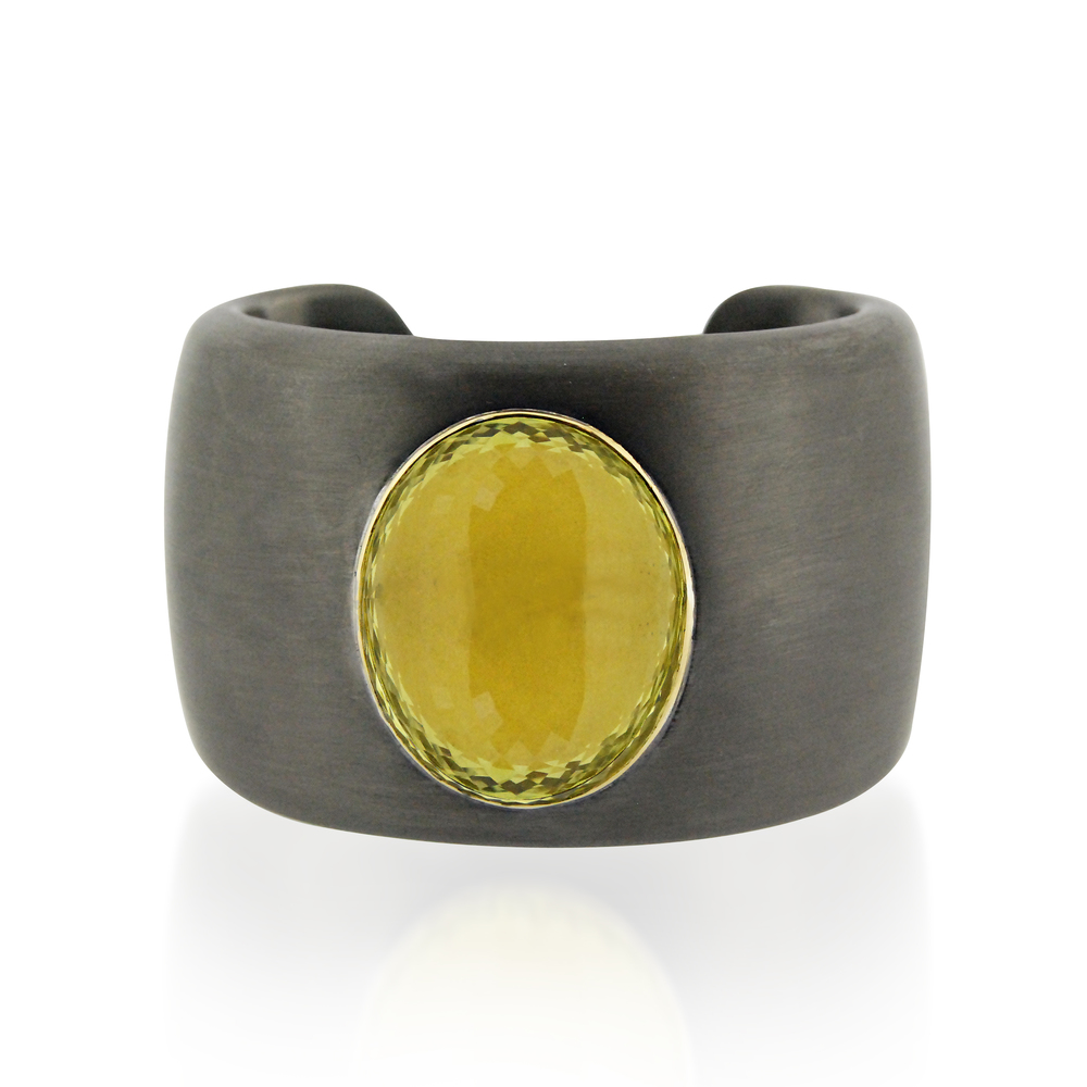 Citrine-and-blackened-silver-cuff-bracelet-front-view.jpg