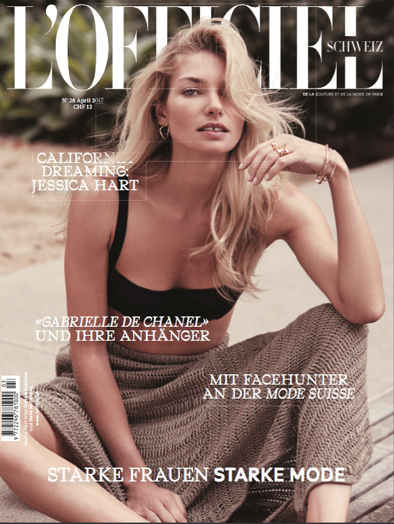L'Officiel Switzerland April 2017 Cover
